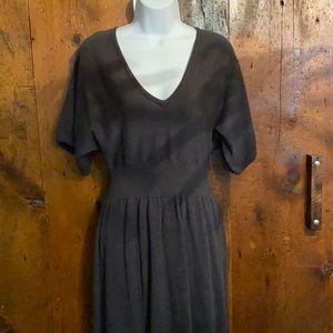 Gray short sleeve DaIsy Fuentes sweater dress Size